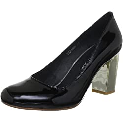 Sofie Schnoor PATENT LEATHER S131606, Damen Pumps, Schwarz (Black), EU 37