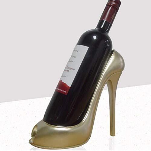 Weinregal mit hohem Absatz für Schuhe, Weinregal, 1 Schuhe, Weinhalter, Tisch, Weinständer für...