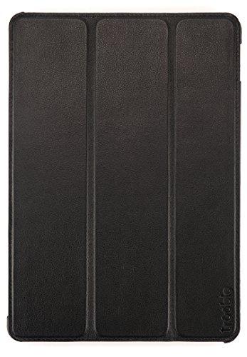 trooble Echtleder für original apple iPad Air 2 Case - Hülle - Tasche - Etui - Smart Cover - echt-es Leder - mit sleep/wake Funktion - schwarz
