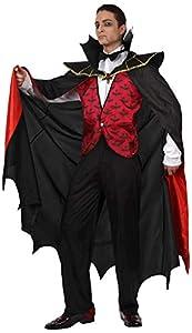 Atosa 93583 Disfraz vampiro rojo adulto M-L, talla hombre