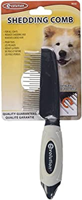 Evolution® Shedding Comb with Rotating Teeth by Safari Pet Products