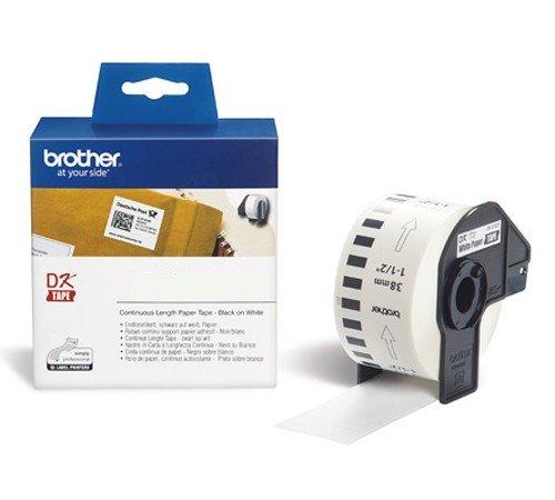 Preisvergleich Produktbild P-Touch QL 720, QL 720NW Brother Etiketten 38 mm x 30, 48 meter, Papier, 1 Endlosetikett, DK Label für Ptouch QL720, QL-720 NW