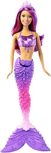 Barbie Mattel DHM61 - Dreamtopia Juwelen-Meerjungfrau Puppe brünette