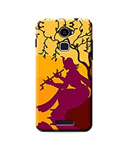 Be Awara Krisna Abstract Art Printed Back Case Cover for Coolpad Note 3 Lite