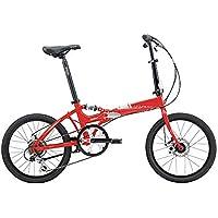 XMIMI Bicicleta Plegable Marco Plegable de Aluminio Modelos para Hombres y Mujeres Bicicleta 14 Pulgadas