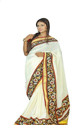 Kerala Sarees (white