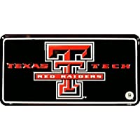 (6x12) Texas Tech University NCAA Tin License Plate by Poster Revolution
