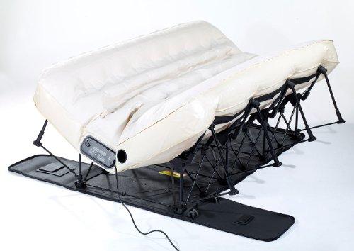 Carlo Milano Gästebett: Luxus-Luftbett mit integrierter Pumpe, 200 x 140 cm (Gäste Luftbetten) - 4