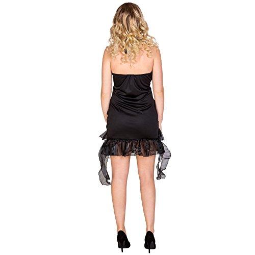 Imagen de disfraz para mujer de ángel | negro m | no. 300231  alternativa