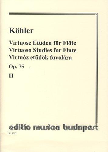 kohler-e-estudios-de-virtuosidad-30-op75-vol2-para-flauta-prohle