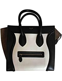 Calfskin Leather Nano Luggage Shoulder Bag ce541677bo 1674b7672cb