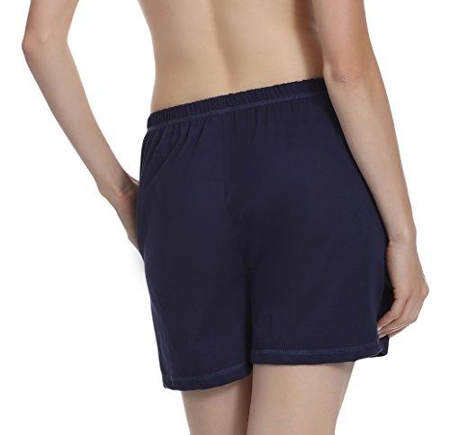 Merry Style Pantalon de pyjama Femme MPP-003 Bleu foncé