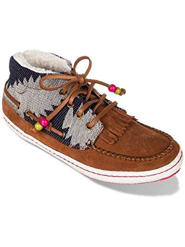 roxy-zapatillas-hellbraun-dunkelblau