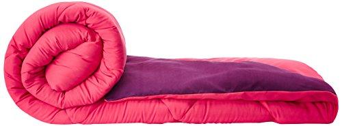 Solimo Microfibre Reversible Comforter, Double (Vivid Pink & Majestic Purple, 200 GSM)