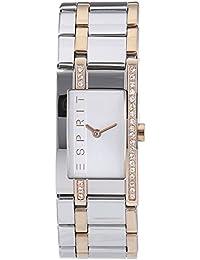 Esprit Damen-Armbanduhr Two tone Houston Analog Quarz Edelstahl ES000M02123