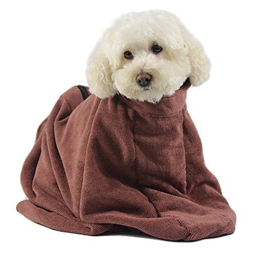 TFENG Handtuch Hundetasche Fleece Dry Fast Dog Trockensack Leichtes Hundetuch S