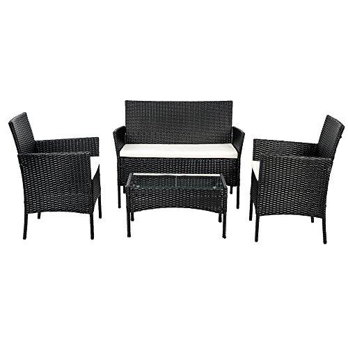 Best Price Btm Black Rattan Garden Furniture Sets Patio
