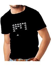 lepni.me T-Shirt da Uomo Vintage pc Maniacs Regali Gamer Divertenti Camicie  Gamer ed5cb00fc30