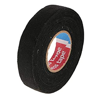 perfk 100x8mm MultiPurpose Self Adhesive Anti Squeak Rattle Felt Wiring Cable Tape