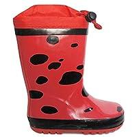 Ladybird Childrens Boys/Girls Red Polka Dot Wellies