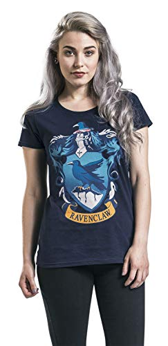 HARRY POTTER Ravenclaw Crest T-Shirt dunkelblau S