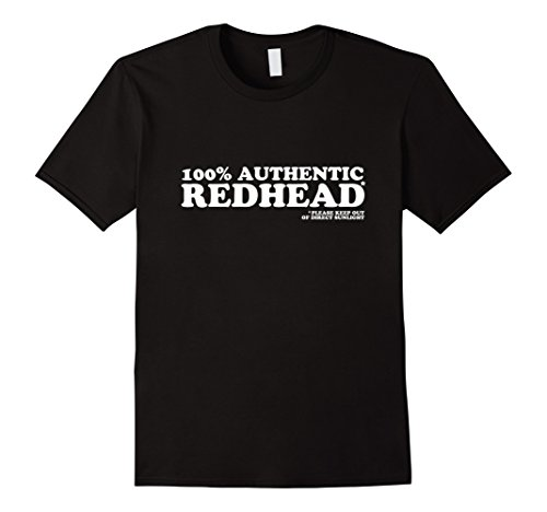 100-authentic-redhead-t-shirt-herren-grosse-m-schwarz