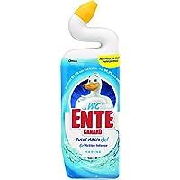 WC-Ente Flüssiger WC Reiniger, Mit Entenhals, Marine-Duft, 750 ml, WC-Gel 5in1
