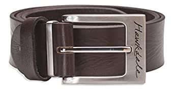 "Hawkdale Mens Full Grain Leather Belt - 1.5"" (40mm) - # 811-400 - Small - Choc"
