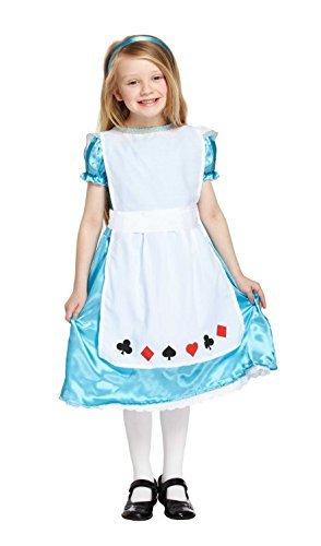 lice Kostüm in mittelgroß–passend für 7–9 (Alice In Wonderland Kleid Für Kinder)