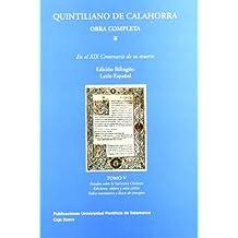 Quintiliano de Calahorra. Obra completa
