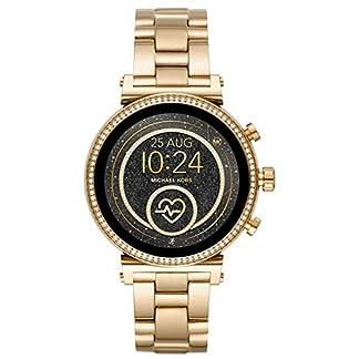 Michael Kors Reloj Analógico-Digital para Mujer Correa en Acero Inoxidable MKT5062