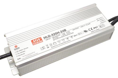Preisvergleich Produktbild LED Treiber Dimmbares LED Netzteil MeanWell HLG-320H-24B 320 W 24 V/DC 13,33 A LED Konstantspannung