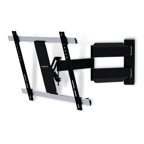 """PureMounts TV Wandhalterung PM-Slimflex-65 – neigbar, schwenkbar, flach, ultraslim für Fernseher bis 165cm / 65"""" Zoll / VESA600"""