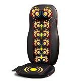 WEII Massagegerät Elektrisches Massagegerät Multifunktions-Nacken-Taille Schulter Massagekissen Haushalt Auto Massagekissen
