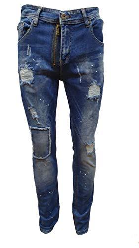 4a9f9288 Georgio Peviani - Jeans - Slim - Uomo Dark Denim Wash 34 W