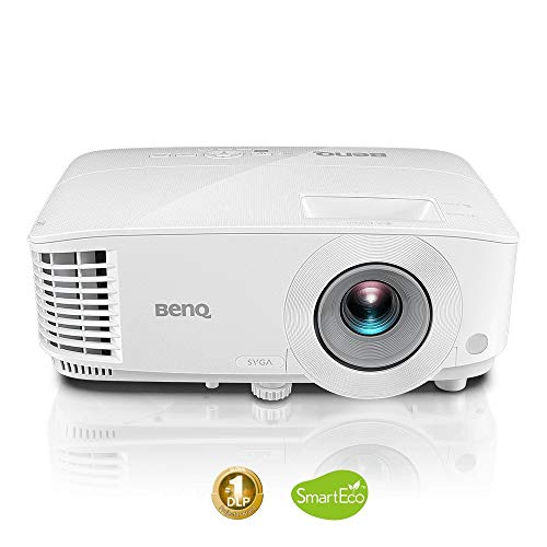 BenQ MS550P 3600lm SVGA Business Projector, High Brightness & Contrast Ratio, 1x VGA in, VGA Out, Audio in/Out, 2W Speaker, Long Lamp Life, 3D Ready