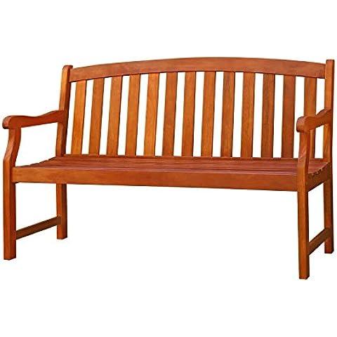 Vifah V275Malibu Eco-friendly banco–madera natural