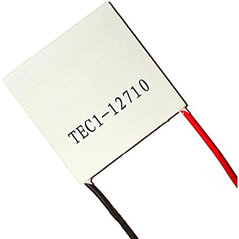 TEC1-12710 DC12V 10A Peltier Cell Thermoelectric Cooler 40x40x3.2 (Power Supply 10 Amp)