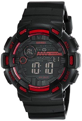 Skmei 1243RED Sports Digital Watch For Unisex