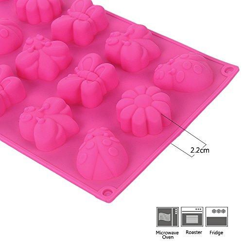prezzo YOKIRIN Forma Stampo in Silicone di Insetti Farfalle Accessorio per la Decorazione Della Torta del Fondente di Cioccolato stampi Zucchero Torte Stampi Sapone