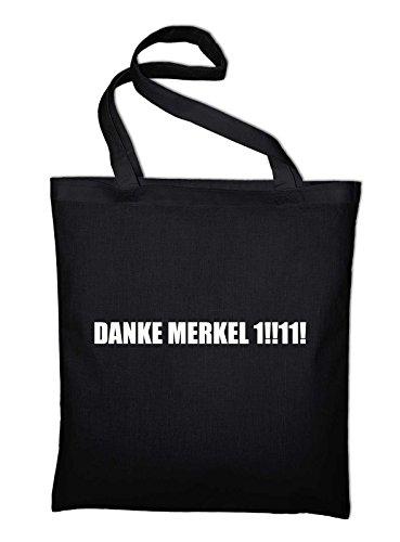 Danke Merkel Eins Elf, Elf Jutebeutel, Beutel, Stoffbeutel ...