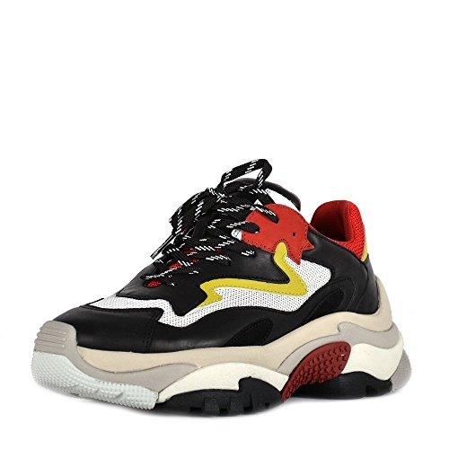 Ash Scarpe Addict Sneaker Rosso e Nero Donna 39 Nero/Rosso