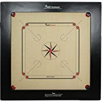 Precise Carrom Board Game Board Ply Wood Board with Coin, Striker & Powder(BullDog,20mm)