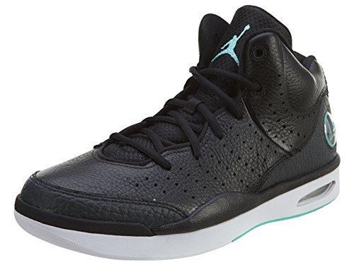 Nike Jordan Flight Tradition, Scarpe da Basket Uomo Nero (Negro (Black / Hyper Turq-Anthrct-White))