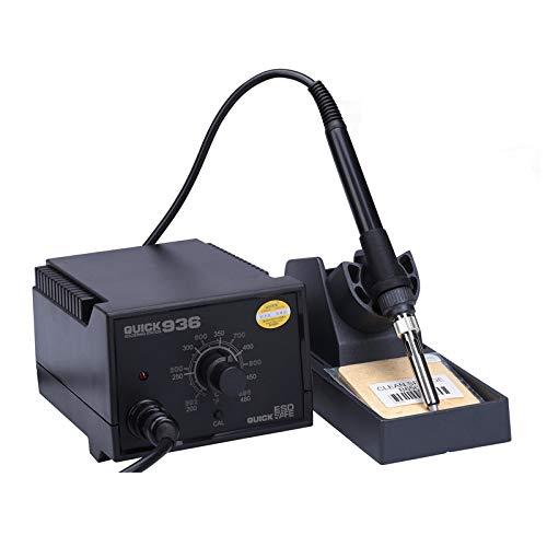 Godlikematealliance Repair Tools Repaire & Ersatzteile Quick 936 220V 60W Anti-Statik-Lötkolben Lötstation, AU-Stecker