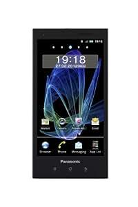 Panasonic Eluga Smartphone (10,9 cm (4,3 Zoll) OLED-Display, 8 Megapixel Kamera, Android 2.3) schwarz