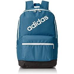 adidas BP Daily, Mochila para Hombre, Azul (Azcere/Negro/Blanco), 24x36x45 cm (W x H x L)