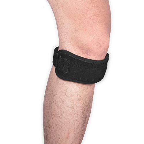 Yarmy Kneepad 2pcs Übung kann eingestellt Werden, um Muskelzerrungen zu vermeiden. Warm und atmungsaktiv. Schweißabsorbierendes Schienbeinband