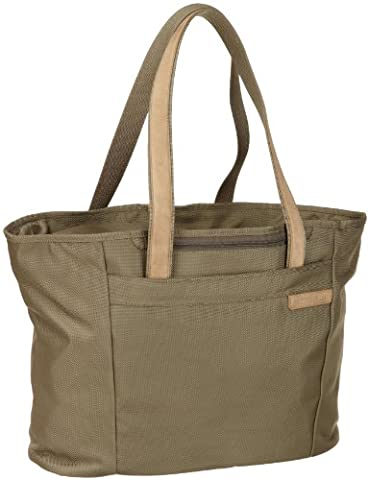 Briggs & Riley Large Shopping Travel Tote Baseline 33.7 liters Green (Olive) 255-7