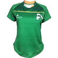 Olorun Ladies Ireland VI Nations Exofit Sublimated Rugby Shirt Size 8-18